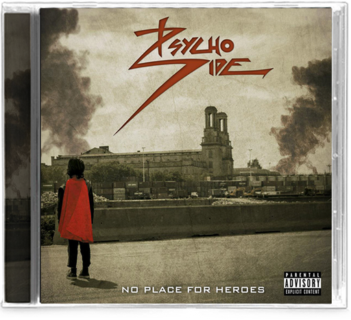Psycho Side - No Place For Heroes (CD)