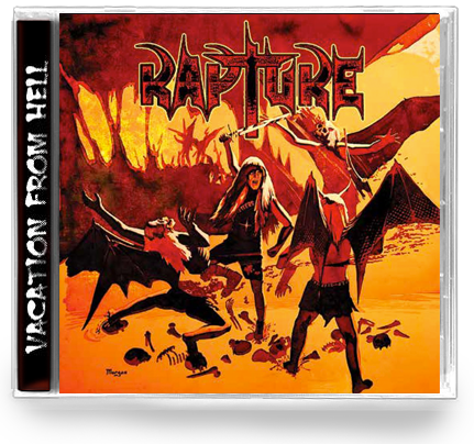 RAPTURE - VACATION FROM HELL (2-CD Set) Elite THRASH! - Christian Rock, Christian Metal