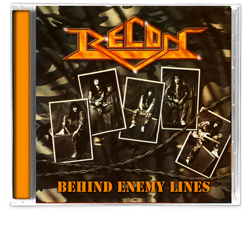 Recon - Behind Enemy Lines (CD) 2019 - Christian Rock, Christian Metal