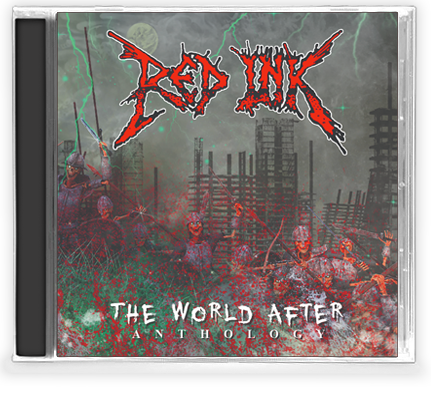 RED INK - THE WORLD AFTER ANTHOLOGY (CD) 2019 Roxx Records