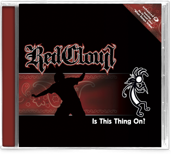 Red Cloud - Is This Thing On? (CD) Rap/HipHop - Christian Rock, Christian Metal