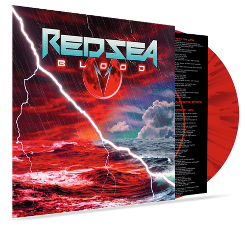 Red Sea - Blood (Colored Vinyl) Red/Black Splatter