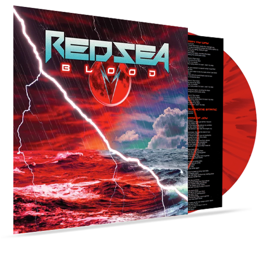 Red Sea - Blood (Colored Vinyl) Red/Black Splatter - Christian Rock, Christian Metal
