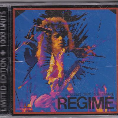 REGIME - STRAIGHT THROUGH YOUR HEART (*NEW-CD, 2005) Christian Metal Soldier - Christian Rock, Christian Metal