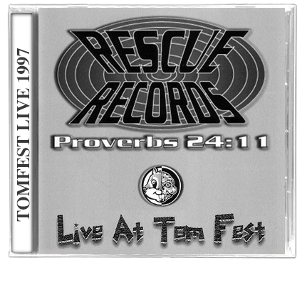 Rescue Records - Live At Tom Fest (1997) CD - Christian Rock, Christian Metal