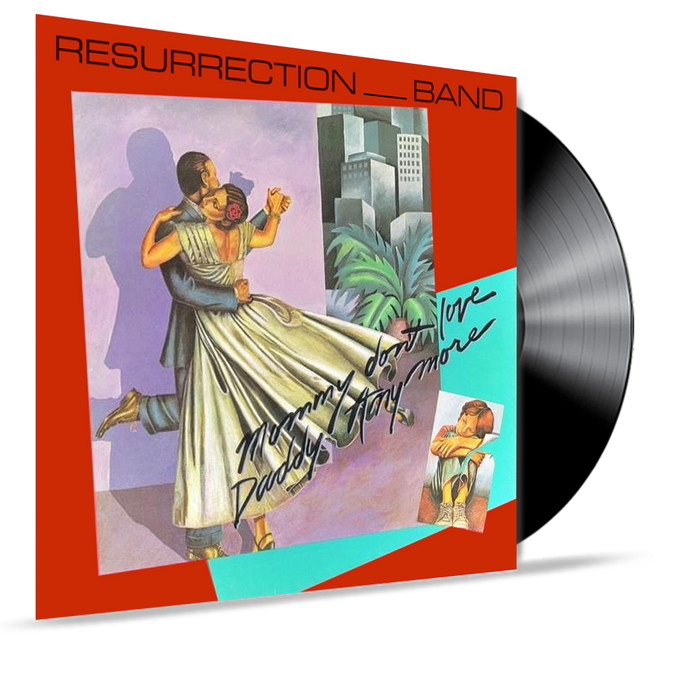 Resurrection Band (Rez Band) - Mommy Don't Love Daddy Anymore (Pre-Owned Vinyl) - Christian Rock, Christian Metal