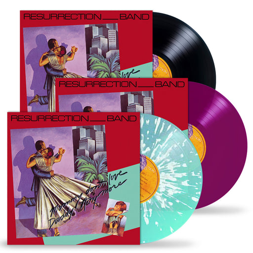 Resurrection Band – Mommy Don't Love Daddy Anymore (Limited Run Vinyl) 3 Colors, Gatefold Jacket + Band Poster