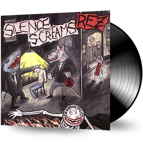 REZ - Silence Screams (Vinyl) Mint Record - Christian Rock, Christian Metal