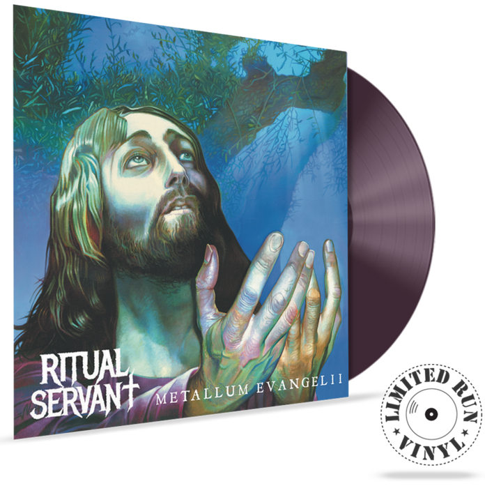 RITUAL SERVANT - METALLUM EVANGELII (180 Gram LIMITED RUN VINYL) - Christian Rock, Christian Metal
