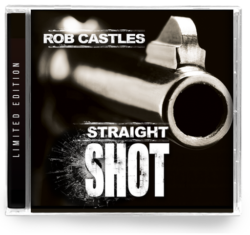 Rob Castles - Straight Shot (CD) 2019 Girder Records *Remastered - Christian Rock, Christian Metal