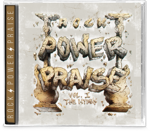 Rock Power Praise Volume 1 The Hymns (CD) GUARDIAN, HALO, BARREN CROSS, MASTEDON - Christian Rock, Christian Metal