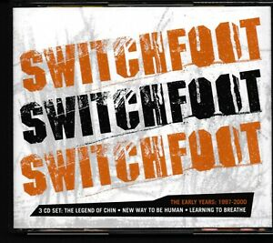 Switchfoot - Early Years: 1997-2000 (3-CD Set) Legend of Chin, New Way To Be Human, Learning To Breathe
