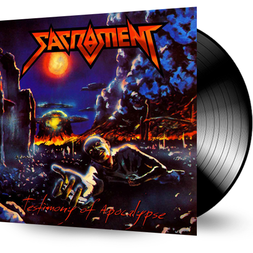 SACRAMENT - TESTIMONY OF APOCALYPSE (BLACK VINYL) - Christian Rock, Christian Metal
