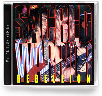 SACRED WARRIOR - REBELLION: METAL ICON SERIES (*NEW-CD) 2019 - Christian Rock, Christian Metal