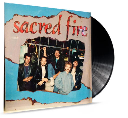 Sacred Fire (Vinyl) Whitecross, King James, Rex Carroll - Christian Rock, Christian Metal
