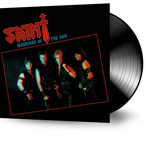 SAINT - WARRIORS OF THE SON (Vinyl) ORIGINAL PRESSING - Christian Rock, Christian Metal