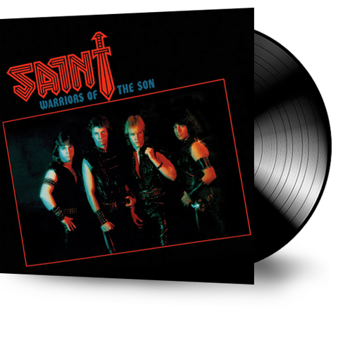 SAINT - WARRIORS OF THE SON (Vinyl) ORIGINAL PRESSING