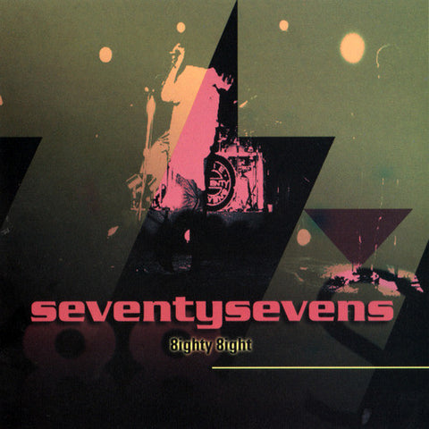 Seventy Sevens ‎– 8ighty 8ight / When Numbers Get Serious (Pre-Owned CD) Brainstorm
