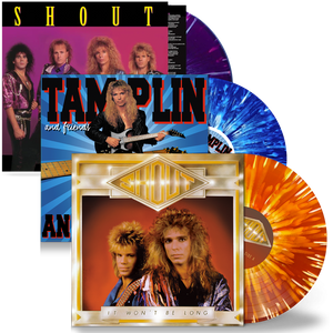 Shout/Tamplin 3 Album Bundle It Won't Be Long + 3, Axe To Grind / In Your Face (Limited Run Vinyl) - Christian Rock, Christian Metal