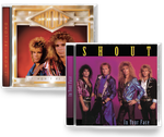 Shout - It Won't Be Long/In Your Face (CD) Bundle