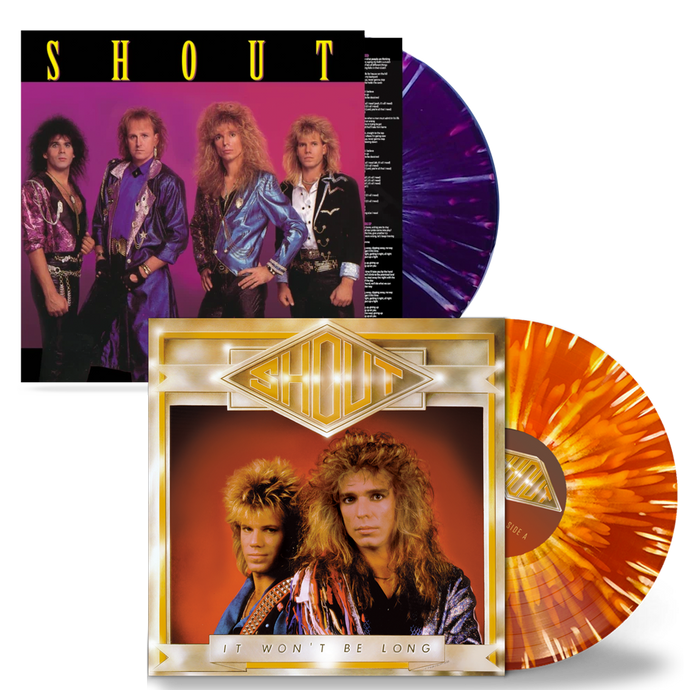 Shout - It Won't Be Long + 3 / In Your Face BUNDLE (Limited Run Vinyl) - Christian Rock, Christian Metal