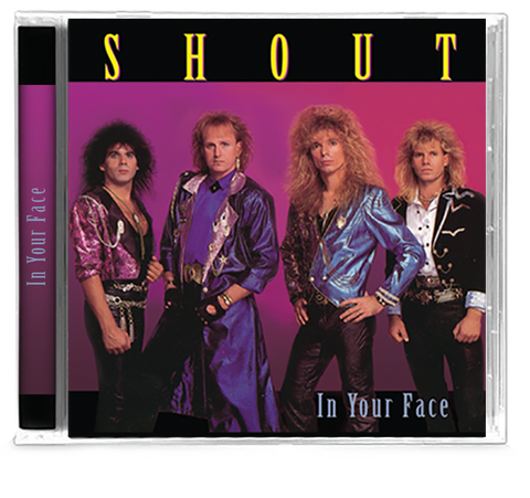 Shout - In Your Face (CD) 2019