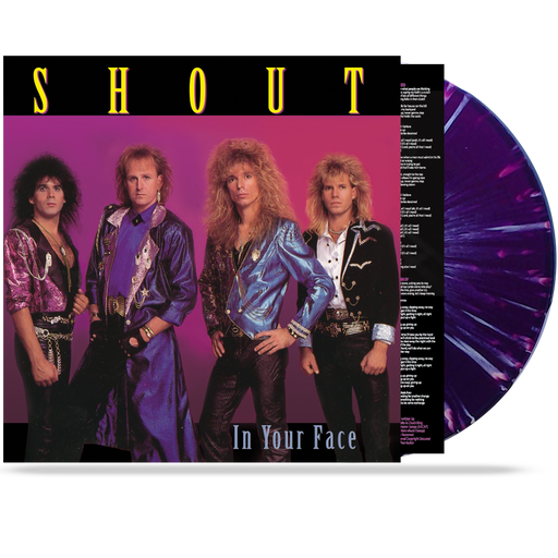 SHOUT - IN YOUR FACE (*COLORED 180 GRAM VINYL) LIMITED 100 UNITS - Christian Rock, Christian Metal