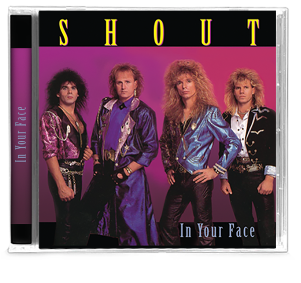 Shout - In Your Face (CD) 2019 - Christian Rock, Christian Metal