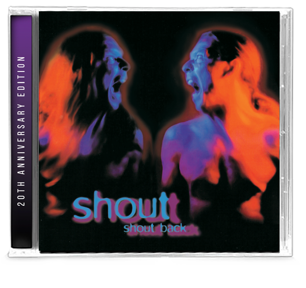 Shout - Shout Back (20th Anniversary Limited Edition) 2019 Girder Records Ken Tamplin - Christian Rock, Christian Metal
