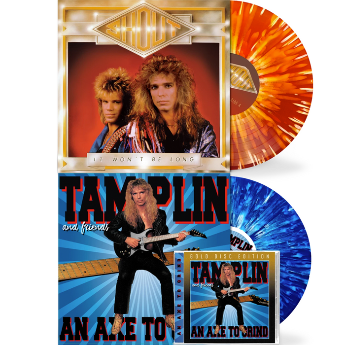 Ken Tamplin - Axe To Grind (Vinyl + CD) / Shout - It Won't Be Long (Vinyl) BUNDLE - Christian Rock, Christian Metal