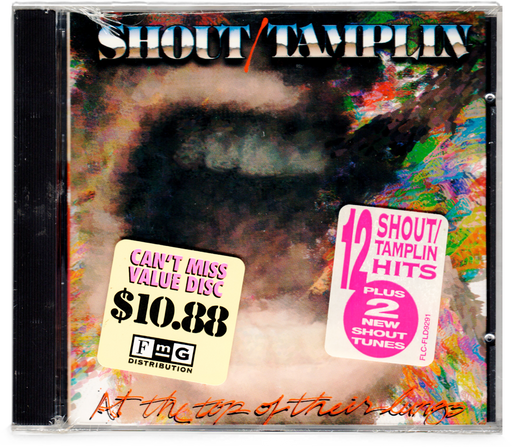 Shout/Tamplin - At the top of their lungs (CD) - Christian Rock, Christian Metal
