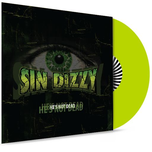 Sin Dizzy (Oz Fox) - He's Not Dead (Lime Green Vinyl) - Christian Rock, Christian Metal