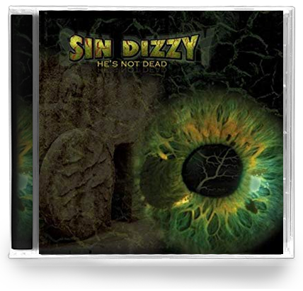 Sin Dizzy - He's Not Dead (CD) w/ Oz Fox, Tim Gaines STRYPER - Christian Rock, Christian Metal