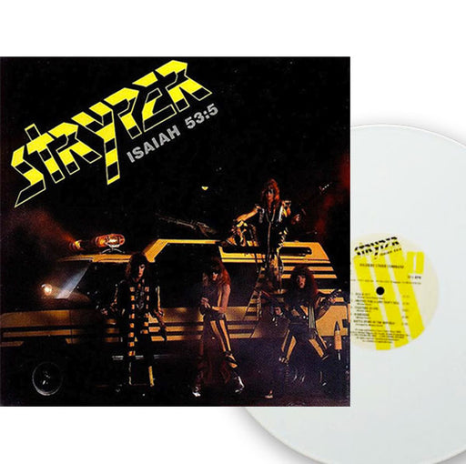 Stryper - Soldiers Under Command (WHITE Vinyl) - Pre-Owned NM - Christian Rock, Christian Metal