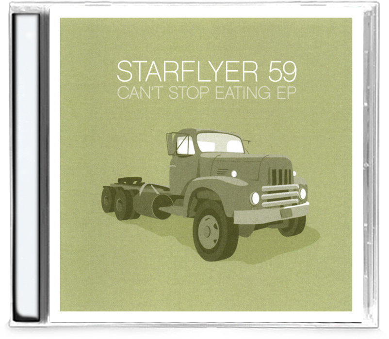 Starflyer 59 - Can't Stop Eating EP (CD) - Christian Rock, Christian Metal