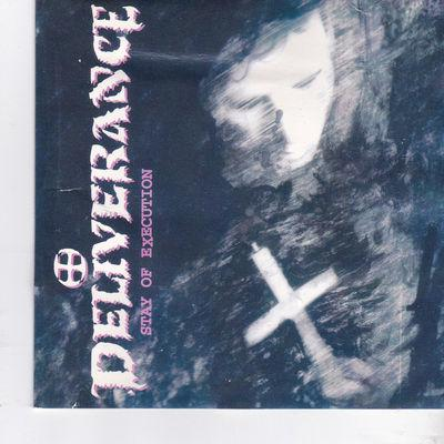 DELIVERANCE - STAY OF EXECUTION (1992, Intense) Orig Issue Metal - Christian Rock, Christian Metal