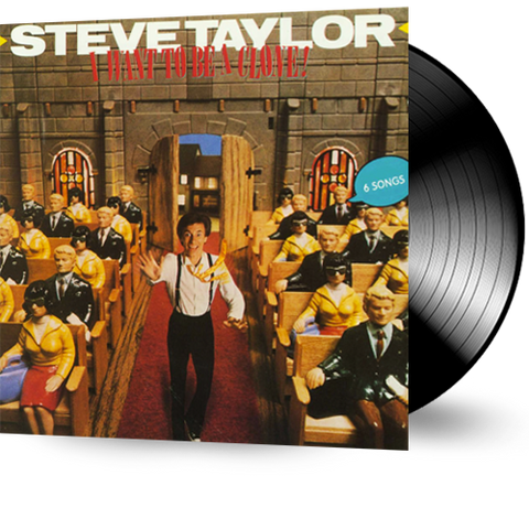 Steve Taylor - I Want to Be a Clone (Vinyl) pre-owned