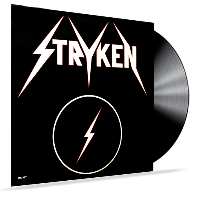 "Stryken - Rock On/Surprise 12"" Single (Vinyl) - Christian Rock, Christian Metal"