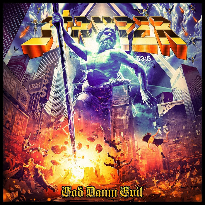 STRYPER - GOD DAMN EVIL (CD) - Christian Rock, Christian Metal