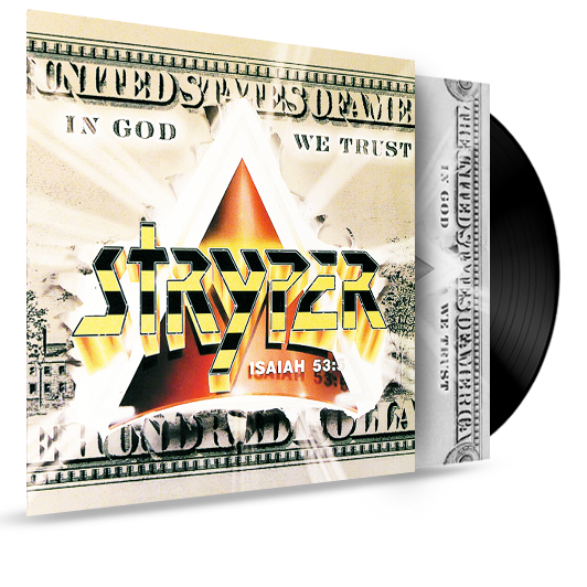 STRYPER - IN GOD WE TRUST (1988, Enigma) - Christian Rock, Christian Metal