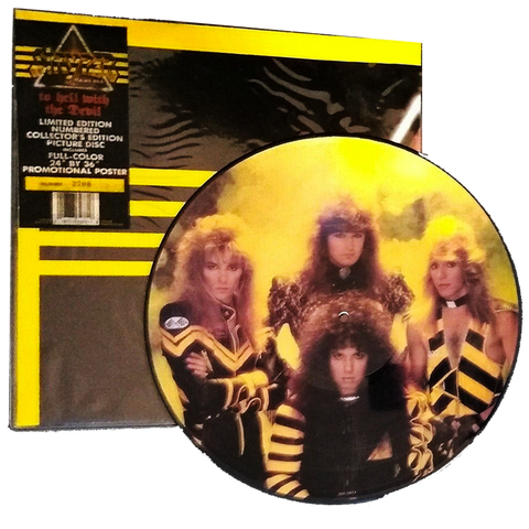 Stryper - To Hell With The Devil PICTURE DISC #5776 (Vinyl)