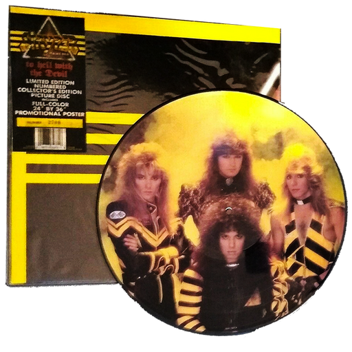 Stryper - To Hell With The Devil PICTURE DISC #5776 (Vinyl) - Christian Rock, Christian Metal