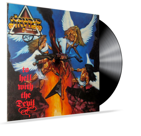 STRYPER - TO HELL WITH THE DEVIL (1986, Vinyl, Enigma) ANGEL ARTWORK PJAS-73237