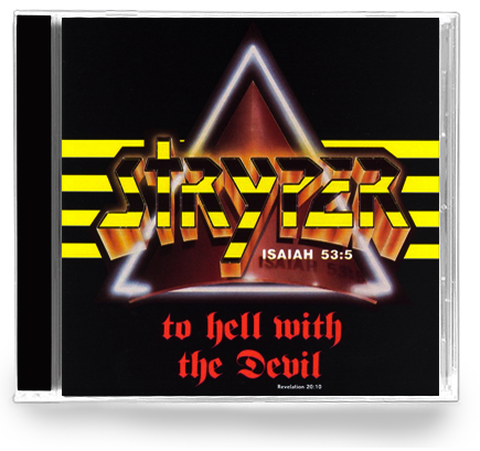 Stryper - To Hell With The Devil (CD) 1986 - Christian Rock, Christian Metal