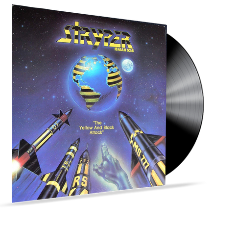 STRYPER - YELLOW AND BLACK ATTACK (1ST PRESSING) E-1064 Vinyl