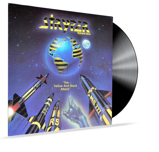 STRYPER - YELLOW AND BLACK ATTACK (1ST PRESSING) E-1064 Vinyl - Christian Rock, Christian Metal