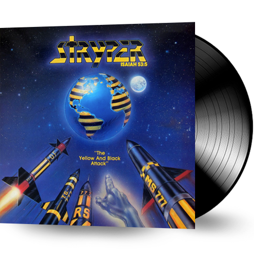 STRYPER - YELLOW AND BLACK ATTACK (VINYL) SEALED!!!
