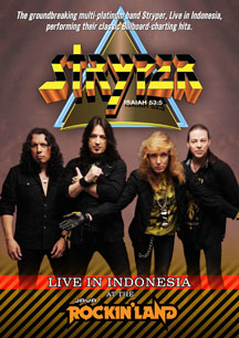 Stryper - Live in Indonesia: Java Rockin' Land (DVD) - Christian Rock, Christian Metal