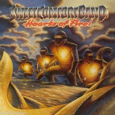SWEET COMFORT BAND - HEARTS OF FIRE (2009, CD, Retroactive) - Christian Rock, Christian Metal