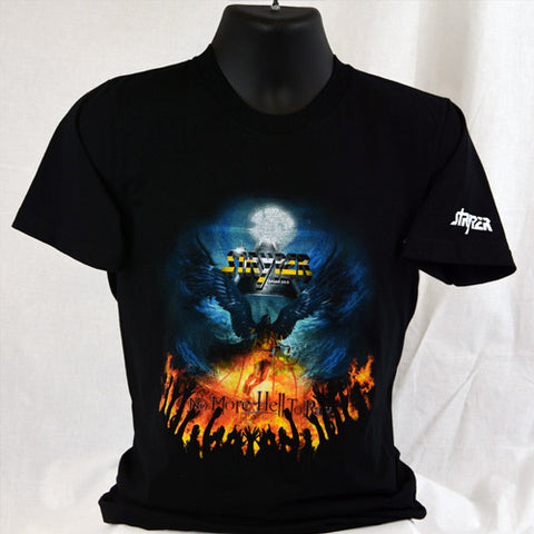 STRYPER - NO MORE HELL TO PAY (T-Shirt) Black